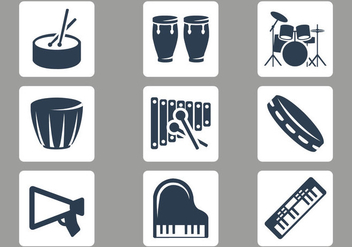 Free Musical Instruments Vector - бесплатный vector #360859