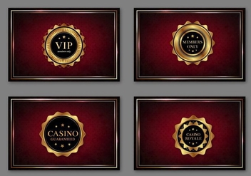 Casino Royal Pass Cards Free Vector - vector gratuit #360889