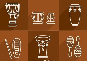 Percussion Musical Instrument - vector #361069 gratis