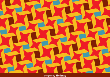 Vector Bauhaus Style Colorful Pattern - vector gratuit #361099