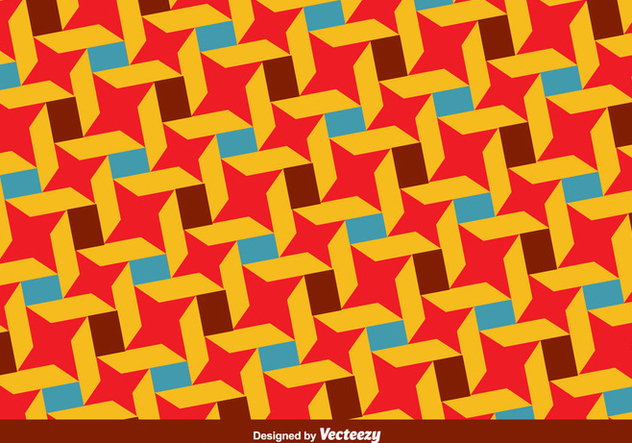 Vector Bauhaus Style Colorful Pattern - бесплатный vector #361099