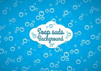 Soap Suds Background - Free vector #361179