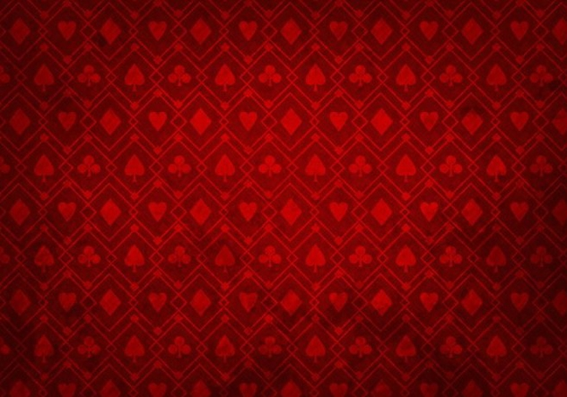 Free Vector Red Poker Background - Kostenloses vector #361299