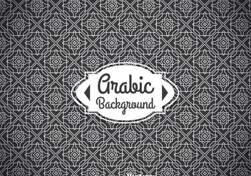 Arabic White Ornament Background - Free vector #361399