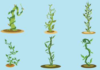 The Beanstalk Vector - vector gratuit #361549