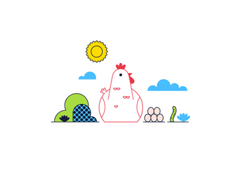 Free Chicken Vector - vector #361679 gratis