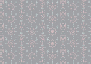 Decorative Outline Pattern - бесплатный vector #362059