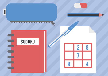 Sudoku Game Vector Icons - Free vector #362089