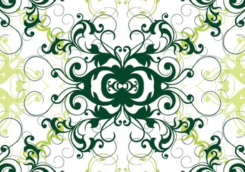 Green Garden Seamless Pattern - vector gratuit #362209