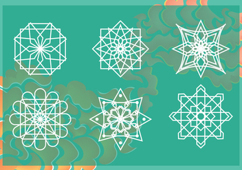 Free Arabesco Pattern Vector - бесплатный vector #362799