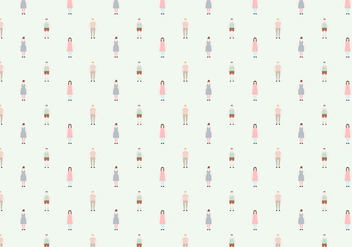 Vector Character Pattern - Free vector #362939