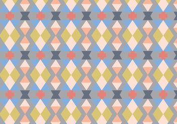 Diamond Decorative Pattern - Free vector #363109
