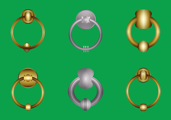 Free Door Knocker Vector Illustration - vector gratuit #363359