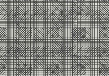 Crosshatch Background Vector - Free vector #363419