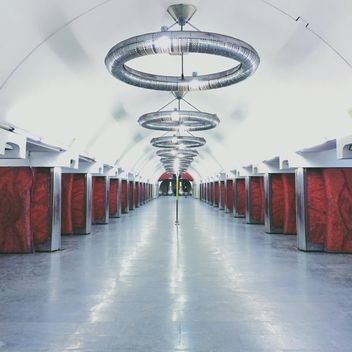 Interior of subway station - Free image #363709