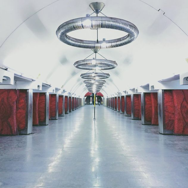 Interior of subway station - бесплатный image #363709