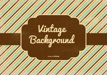 Retro Style Vector Background - Free vector #364029