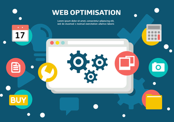 Free Web Optimisation Vector - Kostenloses vector #364089