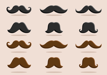 FREE MOVEMBER VECTOR PART 2 - vector #364389 gratis