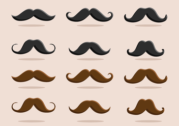 FREE MOVEMBER VECTOR PART 3 - бесплатный vector #364399