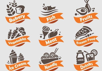 Food and Beverages Shop Icon - vector gratuit #364539