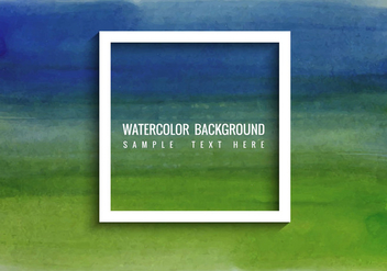 Free Vector Abstract Watercolor Background - бесплатный vector #364559