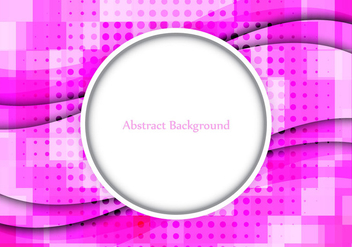 Free Vector Pink Color Abstract background - vector gratuit #364669