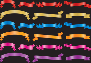 Colorful Sashes - vector gratuit #364689