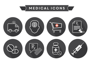Free Medical Icons - vector gratuit #364839