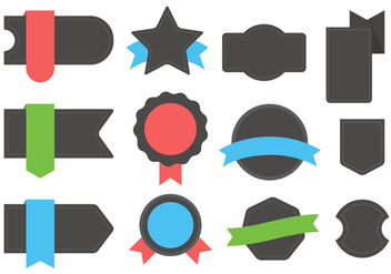 Vector Badges - vector gratuit #364859