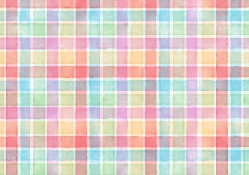 Free Vector Watercolor Plaid Abstract Background - бесплатный vector #364879
