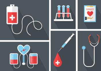 Medical Vector Icons - Free vector #364889