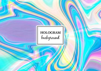 Free Vector Bright Marble Hologram Background - Free vector #364939