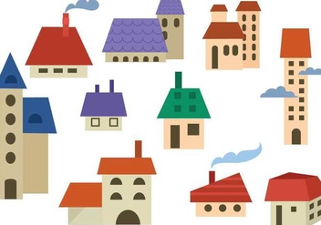 Free Buildings Vectors - Free vector #364979