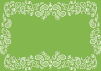 Paisley Background - vector #365159 gratis