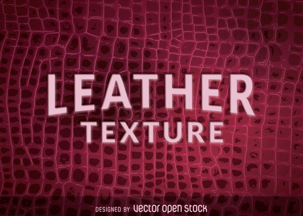 Natural crocodile leather texture - vector gratuit #365219