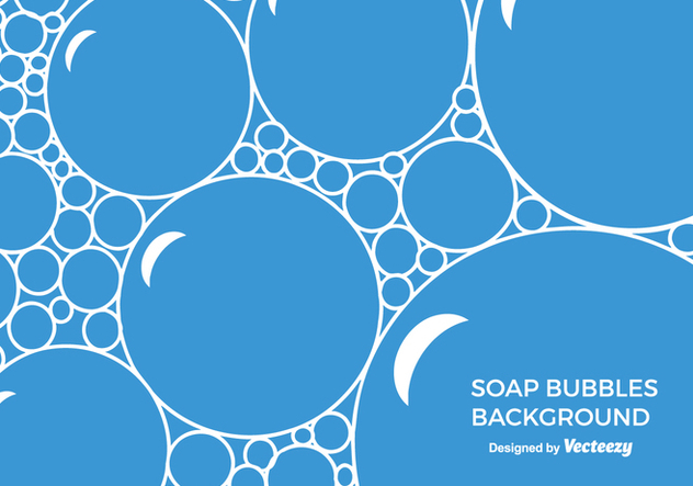 Free Soap Suds Vector Background - Free vector #365559