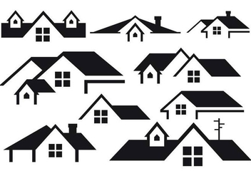Free Rooftops Vector - Free vector #365739