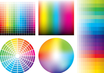 Color Samples - vector #365759 gratis