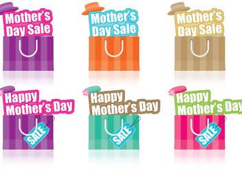 Mothers Day Sale - vector gratuit #365789
