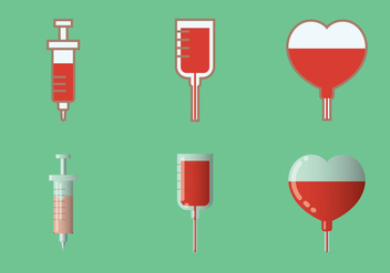Free Blood Drive Vector Illustration - vector gratuit #365869