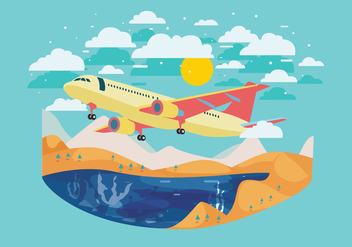 Avion Vector - vector #365929 gratis