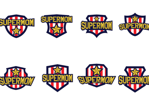 Free Super Mom Vector - Free vector #366029