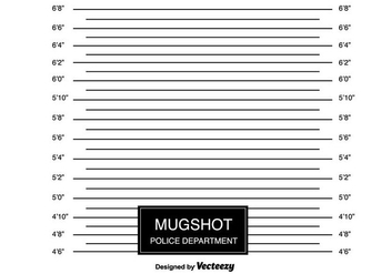 Mugshot Background - vector gratuit #366159