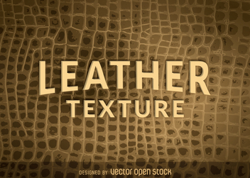 Reptile skin leather texture - vector gratuit #366169