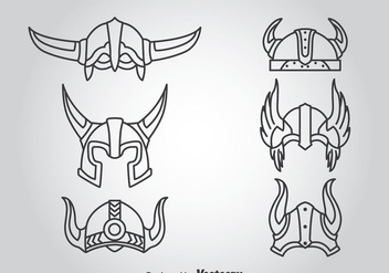 Knight Helmet Vector - бесплатный vector #366289