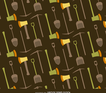 Tool endless pattern - vector #366339 gratis