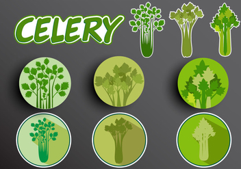 Illustration of Celery - vector gratuit #366469