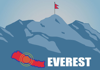 Free Flat Everest Vector - Free vector #366599