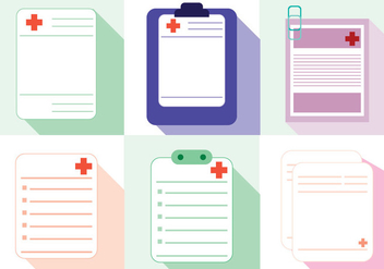 Prescription Pad Vector - Kostenloses vector #366779
